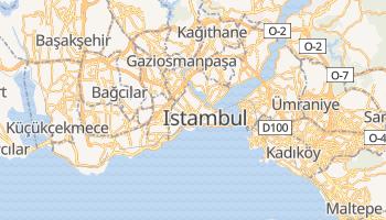 Mapa online de Istambul para viajantes