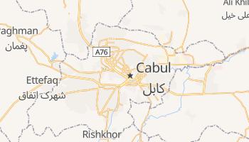 Mapa online de Cabul para viajantes