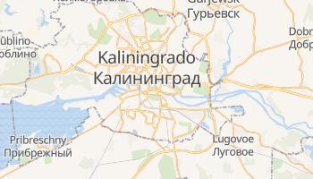 Mapa online de Kaliningrado para viajantes