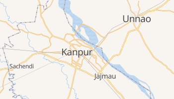Mapa online de Kanpur para viajantes