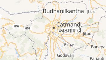 Mapa online de Catmandu para viajantes