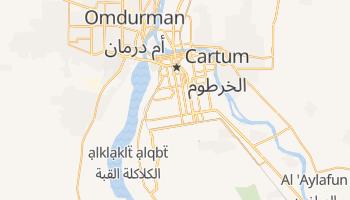 Mapa online de Cartum para viajantes