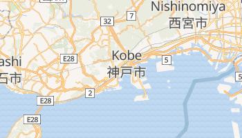 Mapa online de Kobe para viajantes