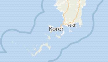 Mapa online de Koror para viajantes