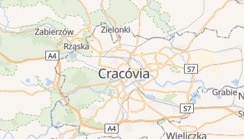 Mapa online de Cracóvia para viajantes