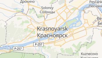 Mapa online de Krasnoyarsk para viajantes