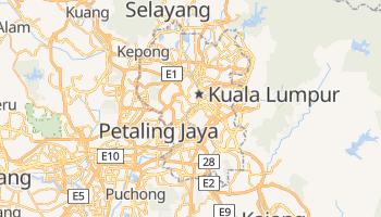 Mapa online de Kuala Lumpur para viajantes