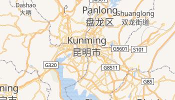 Mapa online de Kunming para viajantes