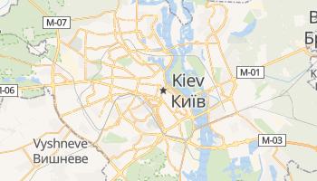 Mapa online de Kiev para viajantes