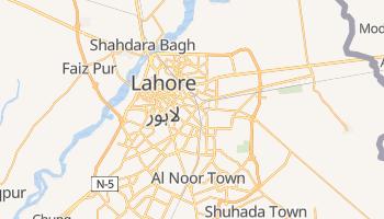Mapa online de Lahore para viajantes