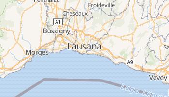 Mapa online de Lausana para viajantes