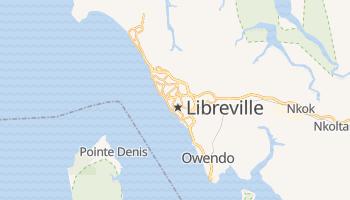 Mapa online de Libreville para viajantes