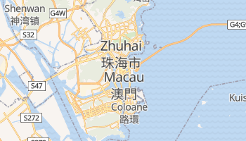 Mapa online de Macau para viajantes
