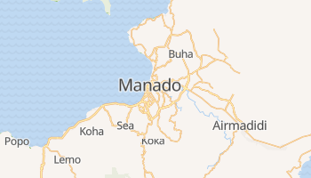 Mapa online de Manado para viajantes
