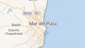 Mapa online de Mar del Plata para viajantes