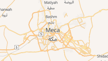 Mapa online de Makkah para viajantes