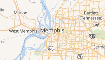 Mapa online de Memphis para viajantes