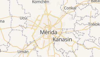 Mapa online de Mérida para viajantes