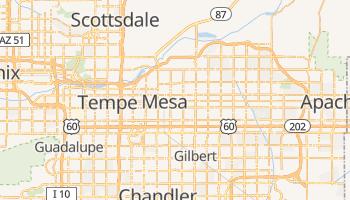 Mapa online de Mesa para viajantes