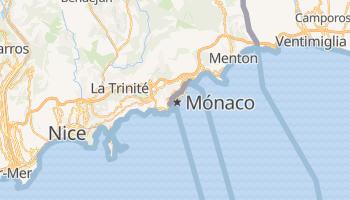 Mapa online de Mônaco para viajantes