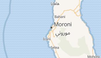 Mapa online de Moroni para viajantes