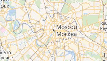 Mapa online de Moscovo para viajantes