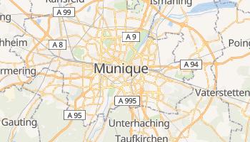 Mapa online de Munique para viajantes