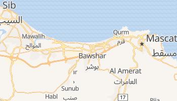 Mapa online de Mascate para viajantes