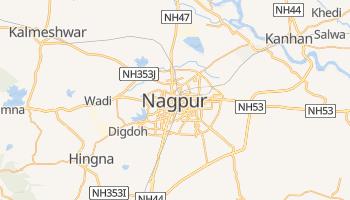 Mapa online de Nagpur para viajantes