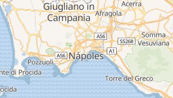 Mapa online de Nápoles para viajantes