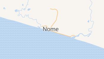 Mapa online de Nome para viajantes