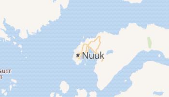 Mapa online de Nuuk para viajantes