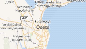 Mapa online de Odessa para viajantes