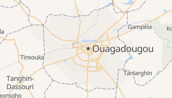Mapa online de Ouagadougou para viajantes