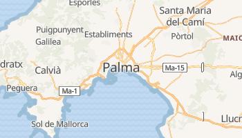 Mapa online de Palma para viajantes