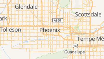 Mapa online de Phoenix para viajantes