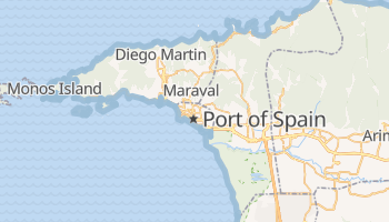 Mapa online de Port of Spain para viajantes