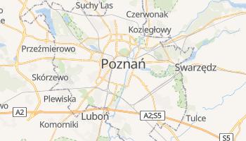 Mapa online de Poznań para viajantes