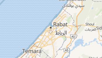 Mapa online de Rabat para viajantes