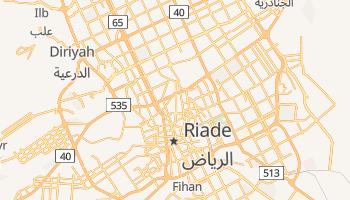 Mapa online de Riade para viajantes