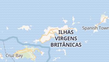 Mapa online de Road Town para viajantes