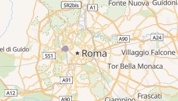Mapa online de Roma para viajantes