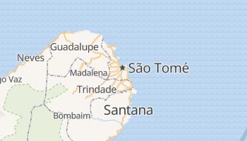 Mapa online de São Tomé para viajantes