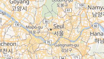 Mapa online de Seul para viajantes