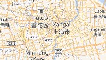 Mapa online de Xangai para viajantes
