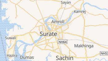 Mapa online de Surate para viajantes