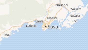Mapa online de Suva para viajantes
