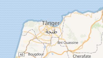 Mapa online de Tânger para viajantes