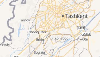 Mapa online de Tashkent para viajantes