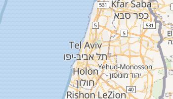 Mapa online de Tel Aviv-Yafo para viajantes